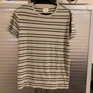 American Eagle outfitters shirt. Tan, olive , navy